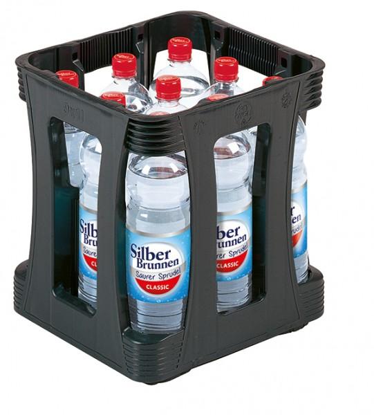 Silberbrunnen Spritzig 9x1,0 L