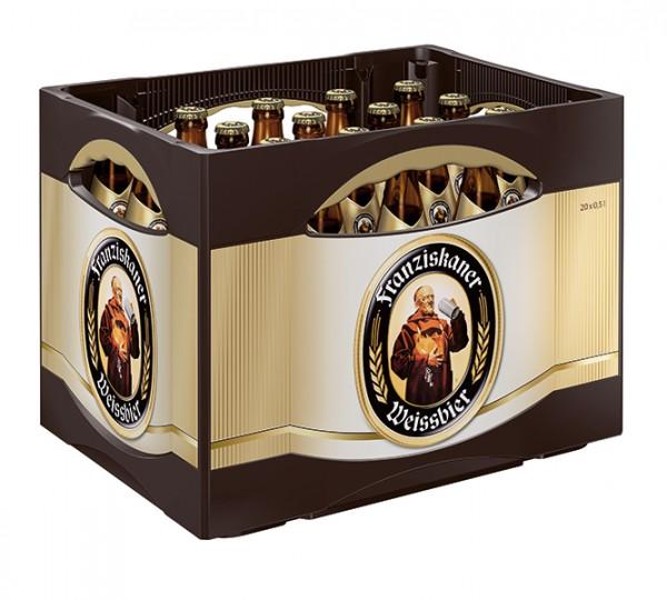 Franziskaner Hefe Alkoholfrei 20x0,5 L