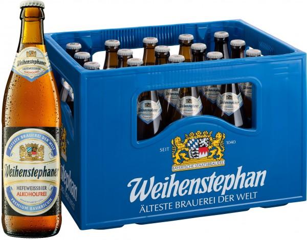 Weihenstephaner Hefeweißbier Alkoholfrei 20x0,5 L