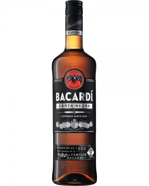 Bacardi Carta Negra Rum 0,7 L