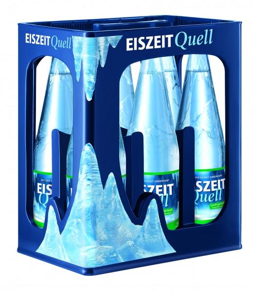 EiszeitQuell Sanft perlend 6x1,0 L Glas