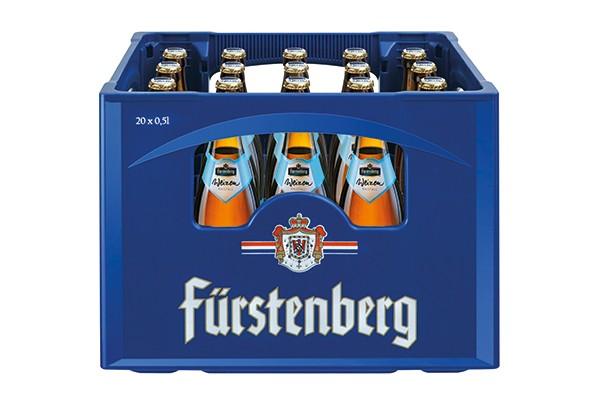 Fürstenberg Weizen Hefe hell 20x0,5 L