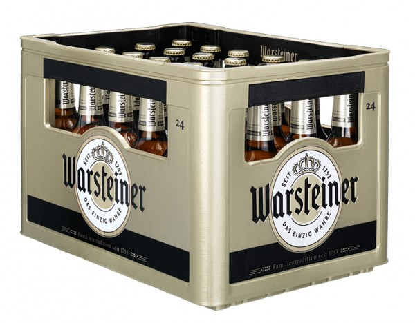 Warsteiner Pilsner 24x0,33 l