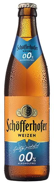 Schöfferhofer Hefeweizen Alkoholfrei 0,0 % 20x0,5 L