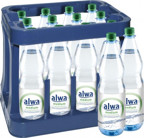 Alwa Medium 12x1,0 L PET