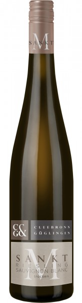 Cleebronn Sankt M Riesling mit Sauvignon Blanc trocken 0,75 l
