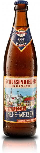 Schussenrieder Hefe-Weizen Alkoholfrei 20x0,5 l