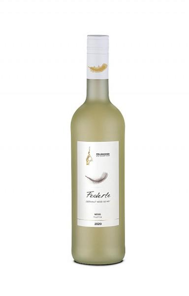 Fellbacher Weingärtner Federle Weiss fruchtig 0,75 L