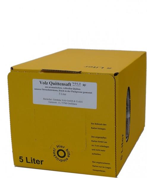 Volz Quitten Direktsaft Bag in Box 5 l