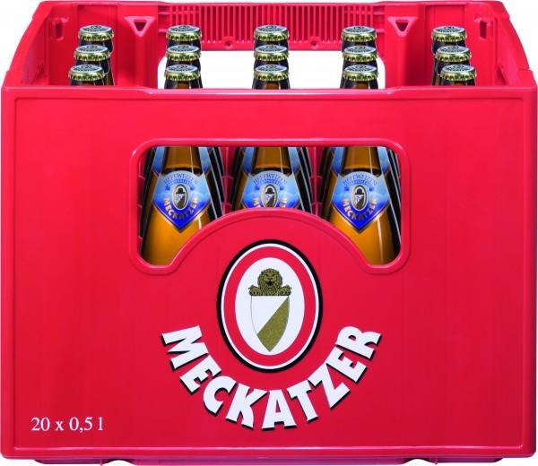 Meckatzer Löwenbräu Hefeweizen alkoholfrei 20x0,5 L