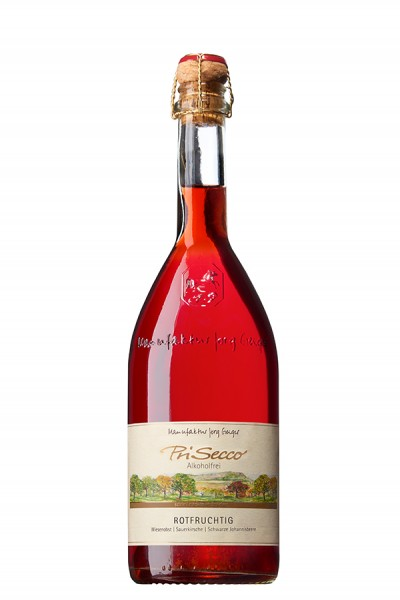 Geiger Prisecco - rotfruchtig - alkoholfrei - 0,75 l